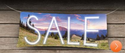 Banner sales at Denver Print Company