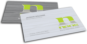 neos marijuana industry business cards