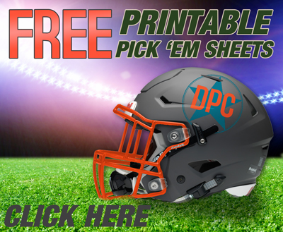 printable football pick 'em sheets here