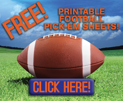 free printable football pick 'em sheets link