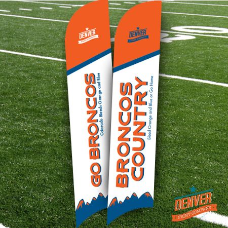 Enter to win a bronco fan flag