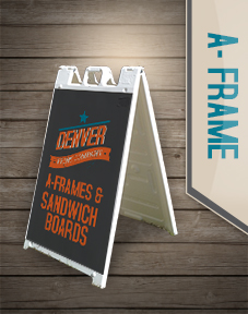 a-frame signs, sandwich board, street sign,