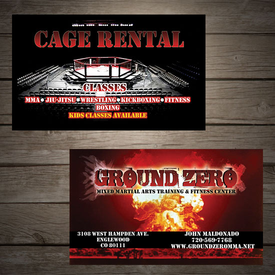 ground zero, cage rental