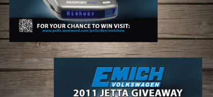 BC, emich, Promotions, business card