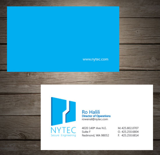 Nytec denver printing company project description category business cards reheart Image collections