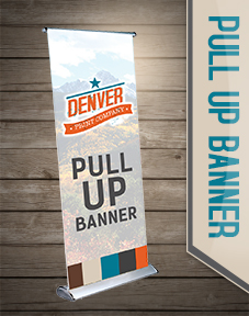 display stand, promo banner, pop up banner, convention banner, pull up banner