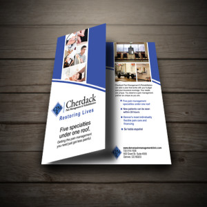 Medical Brochure for Cherdack Pain Management