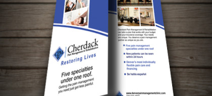 Brochure for Cherdack