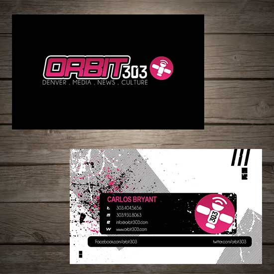 Business Card Orbit 303