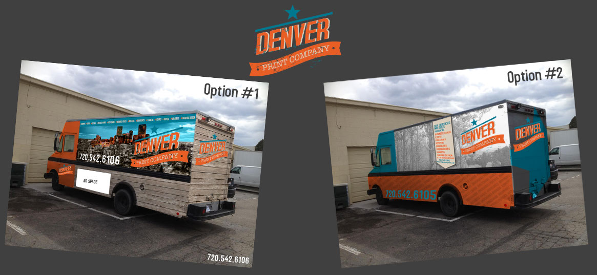 custom truck wrap denver