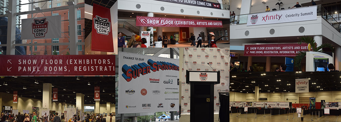 Denver Comic Con signage