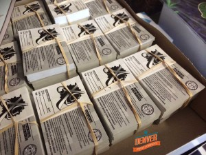 sticker printing denver - XG pot labels