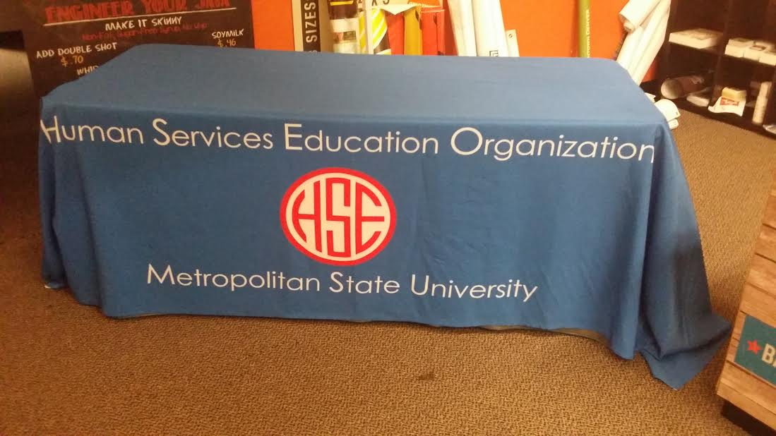 full color table cloths printed in denver