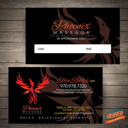 Phoenix massage logo design denver denver printing company phoenix massage logo design denver colourmoves Images