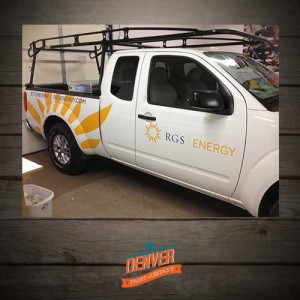 Solar Company fleet graphics
