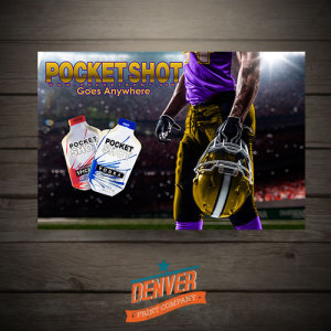 pocketshot poster design
