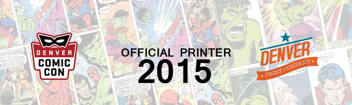 Printer Comic Con