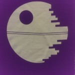 pixelated death star