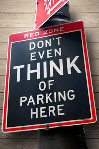 parking signs image