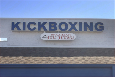 channel letter sign denver print company kick boxing