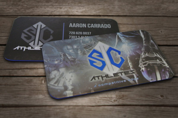 Aaron Carrado Business Card