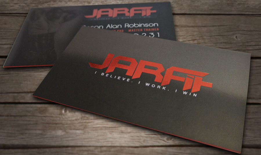 JAR Fit Business Card