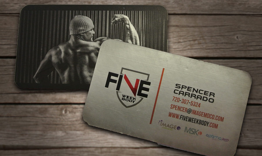 Spencer Carrado Business Card