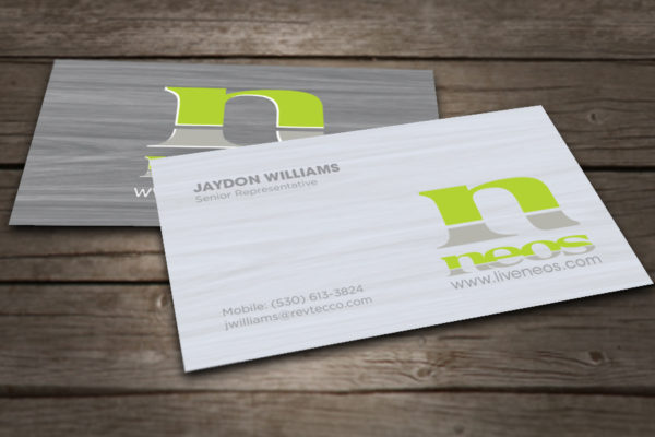 Neos Business cards