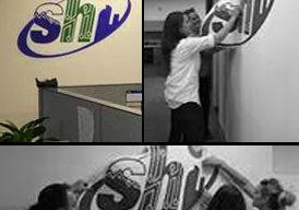 SHI wall graphics