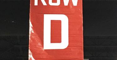 """""""Row D"""" Comic Con banner"""