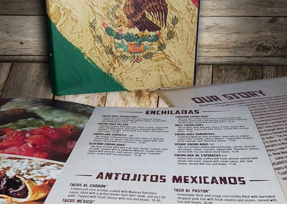 three margaritas menu