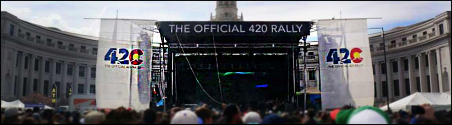 colorado 420 rally stage banners