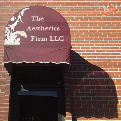 the aesthetics firm awning graphics