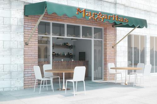 tres margaritas awning graphics