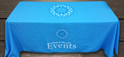 vail valley events table cloth