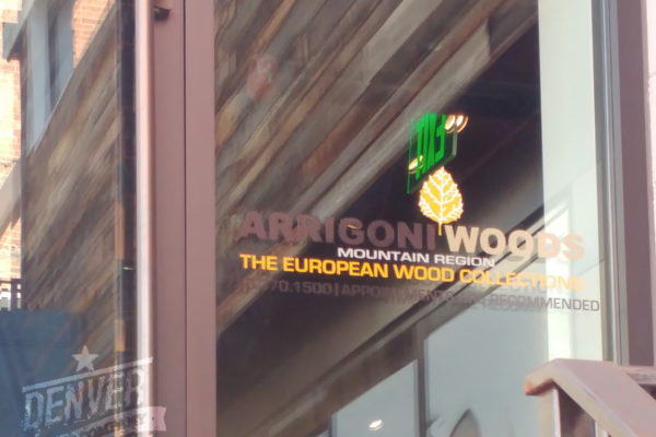 arrigoni woods window graphic