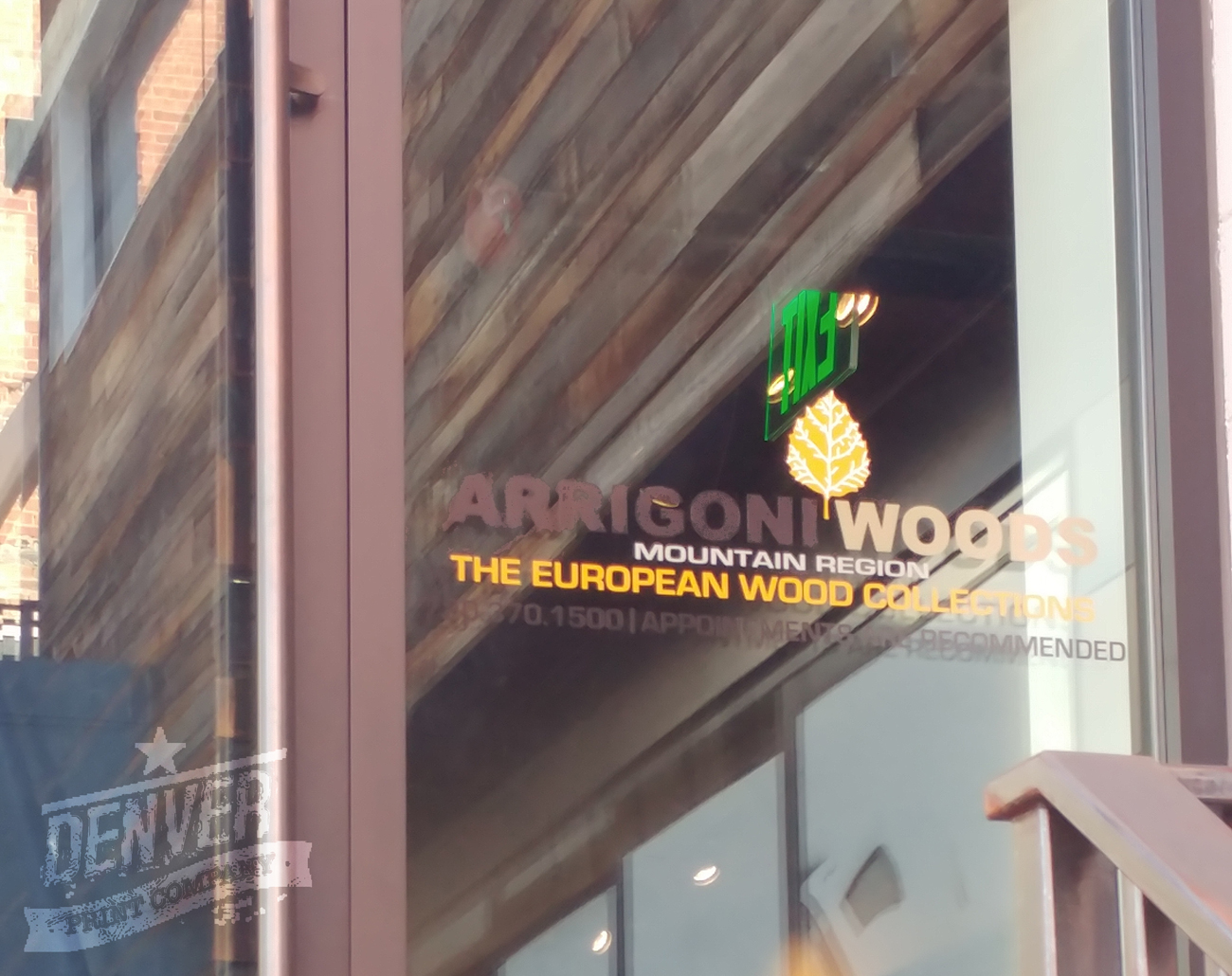 arrigoni woods window graphic