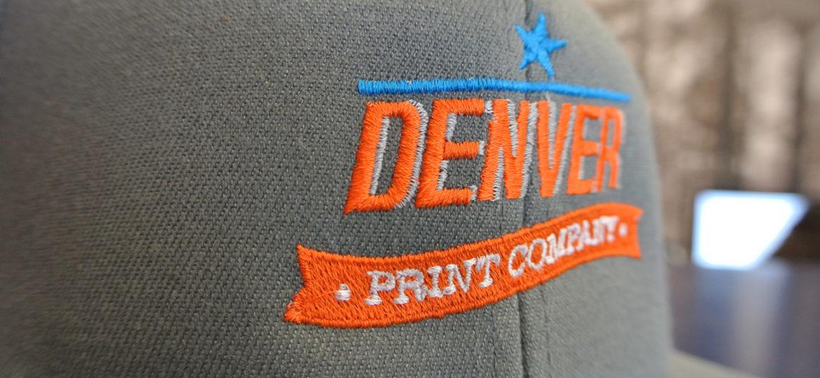denver print company embroidered hat