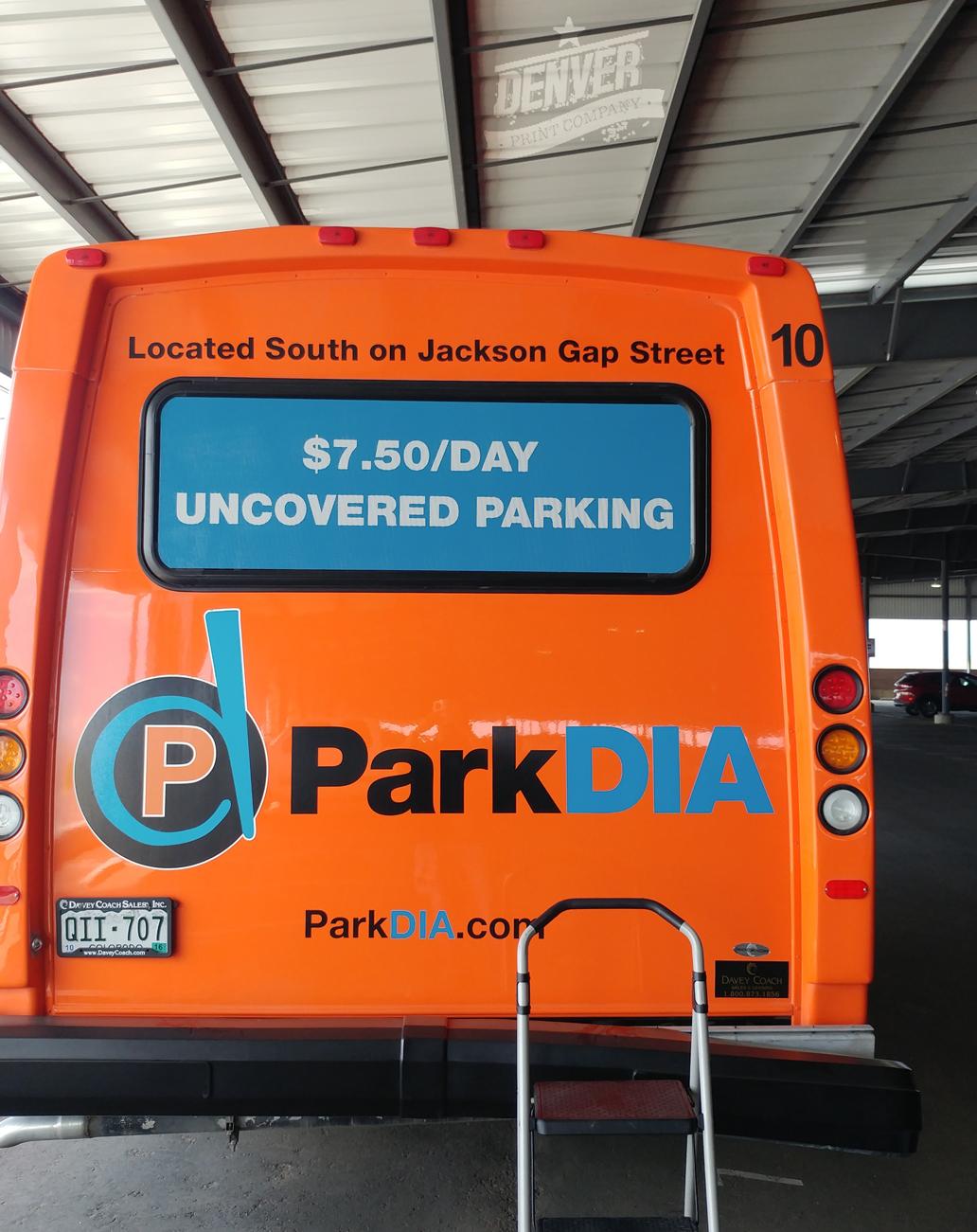Park DIA vehicle Wrap