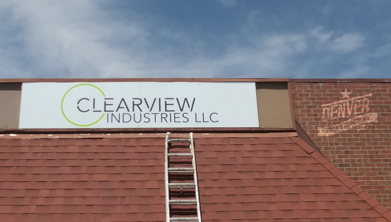 clearview industries sign