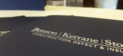 benson kerrane custom folders