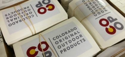 colorado original outdoor products stickers
