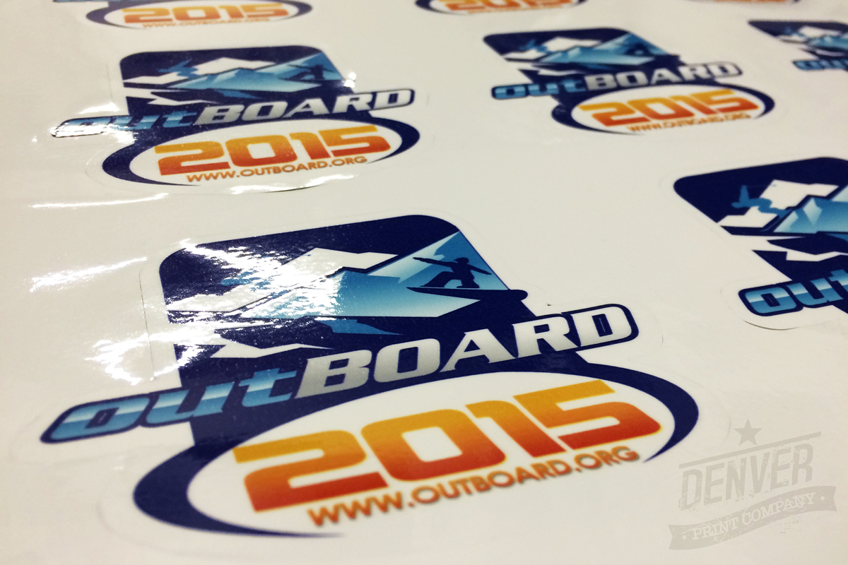 out board snowboarding stickers