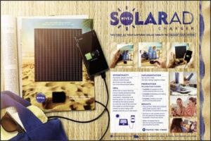 nivea solar charger ad