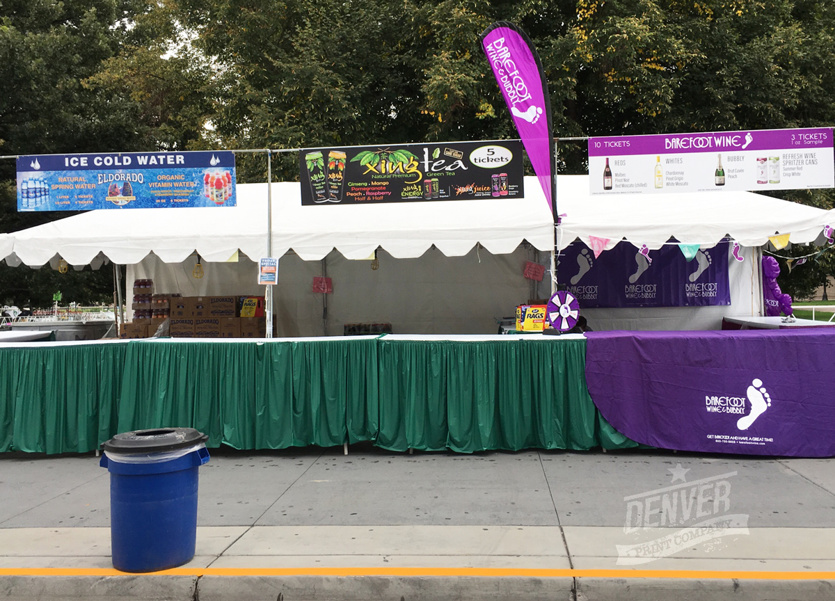 booths at taste of colorado 2016