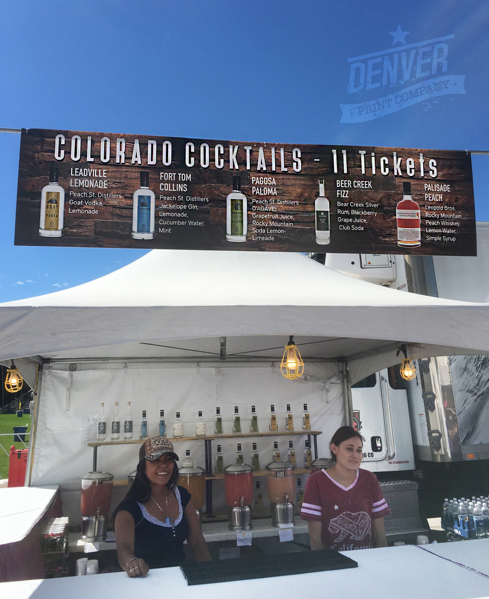taste of colorado 2016 cocktail booth sign