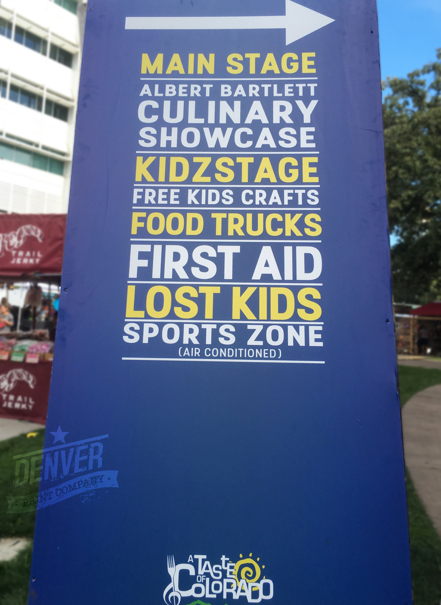 main stage sign taste of colorado 2016