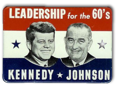 kennedy johnson button