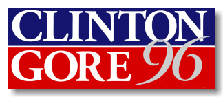 clinton gore yard sign