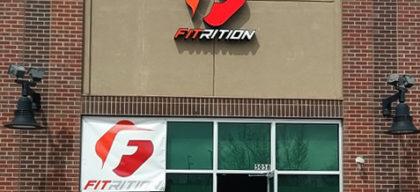 fitrition channel letter sign denver